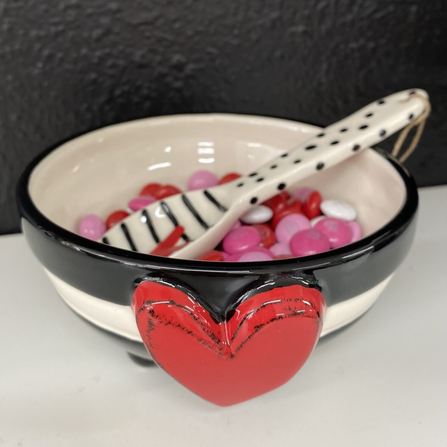Stripe Candy Bowl Set