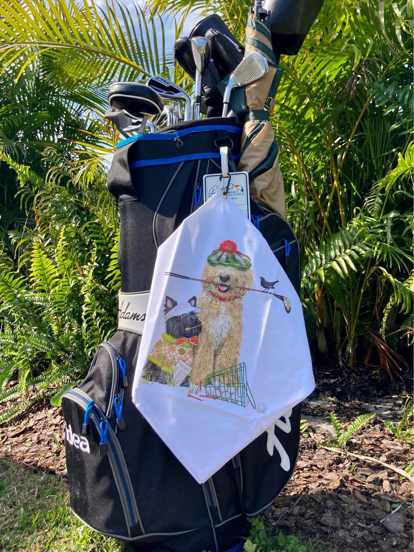 Golfer's Tee Towel