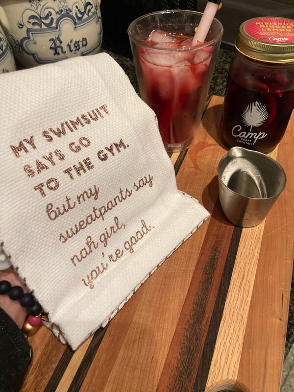 Funny Bar Towel