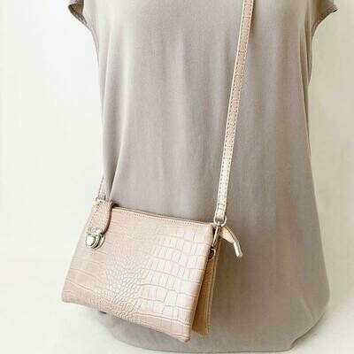 Crossbody Convertible Clutch  Handbag
