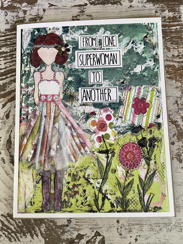 A Girl LIke Me Card