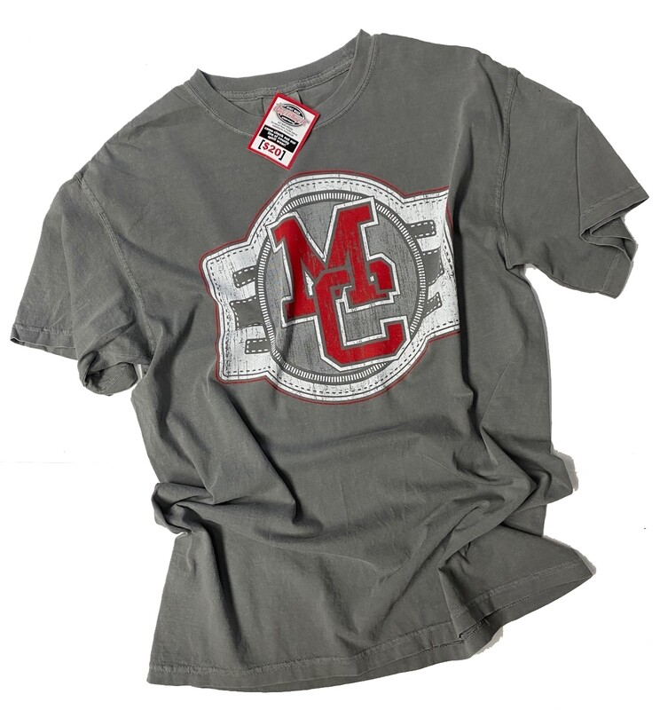 MC Label Design Comfort Colors Garment Grey Tee