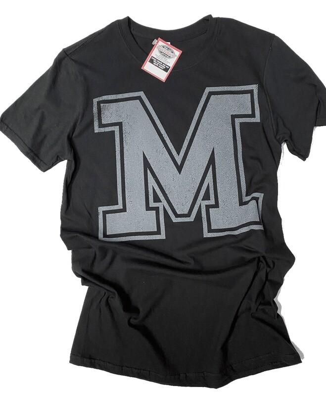 Big M  Black  Softstyle Tee
