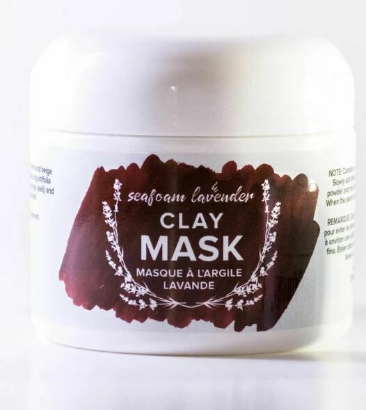 Lavender Clay Mask, 56g