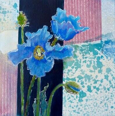 Bleums #4 8x8 framed