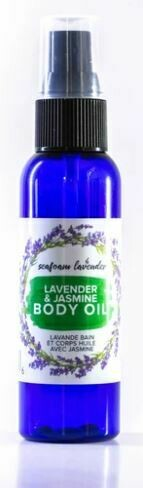 Lavender & Jasmine Body Oil