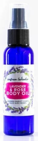 Lavender & Rose Body Oil