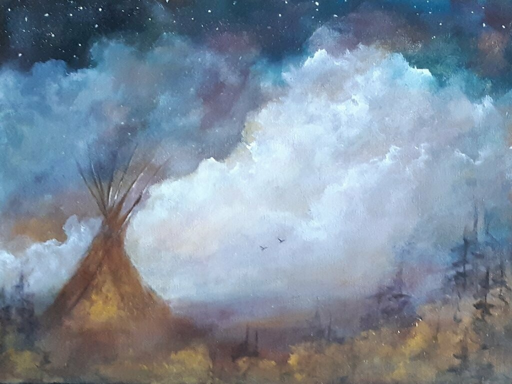 Sacred Dreams 12x16