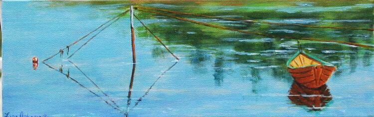 """On the Line 4"""" X 12"""""""