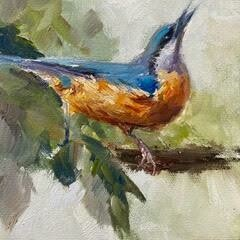 In Beak Form, Nuthatch 6x6