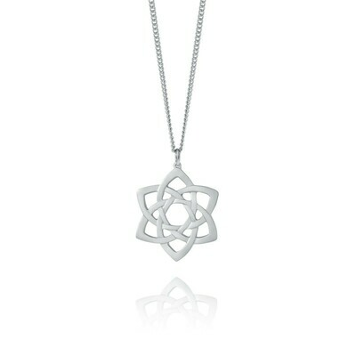 Amos Celtic Rose Pendant 18