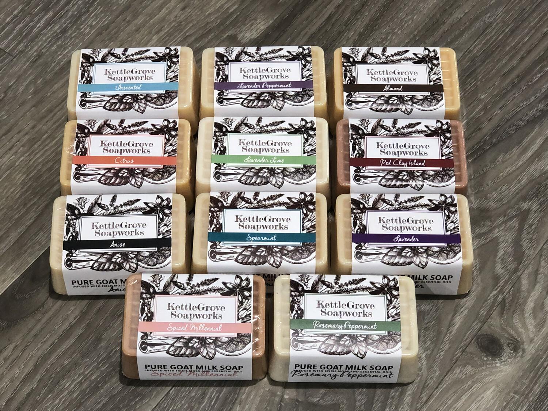 KettleGrove Classic Goat Milk Soap Bar