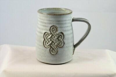 Celtic White Coffee Mug