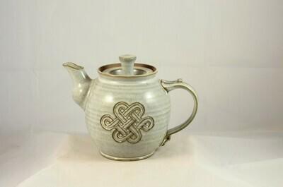 Teapot Celtic White