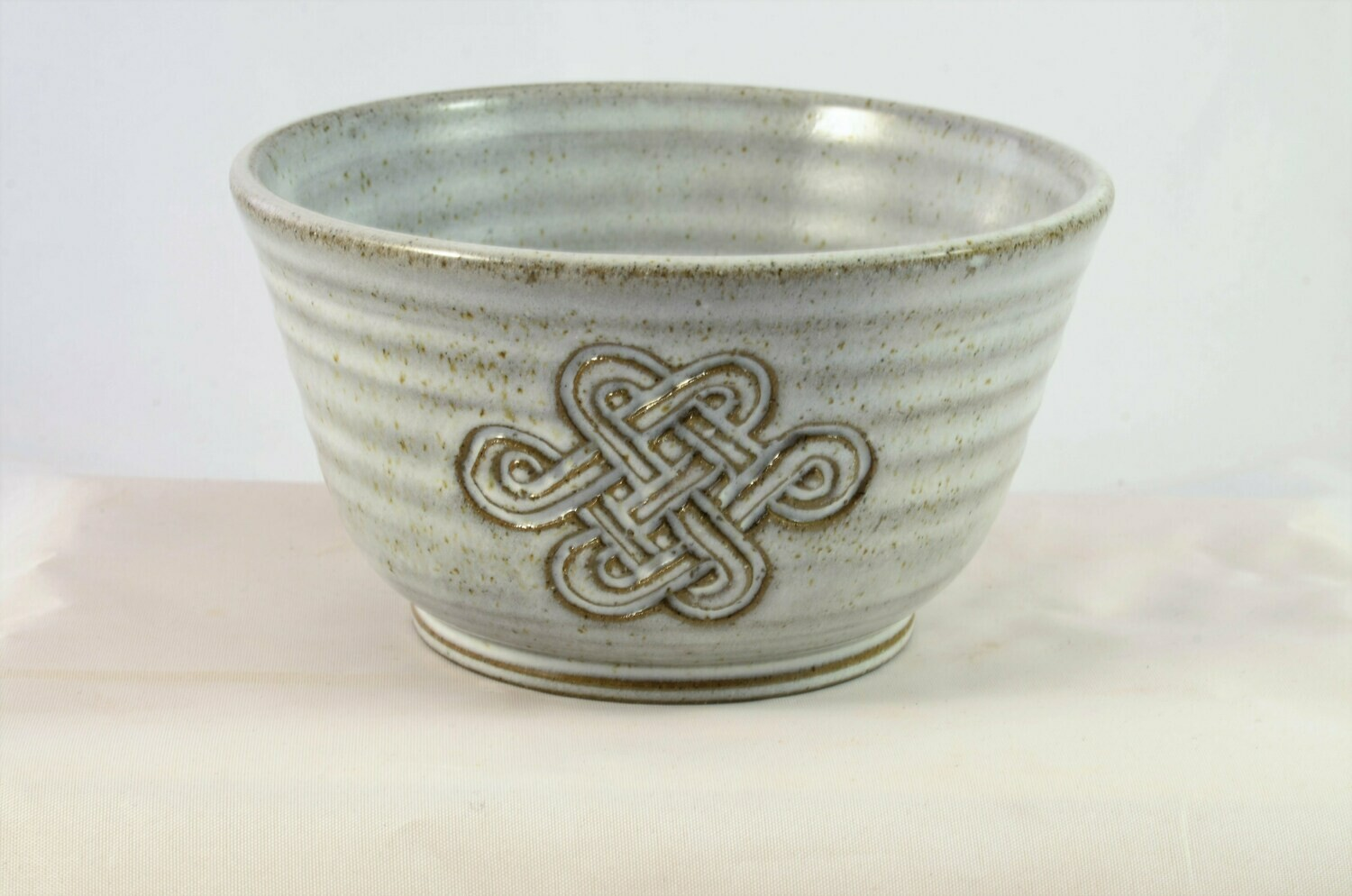 Small Bowl Celtic White