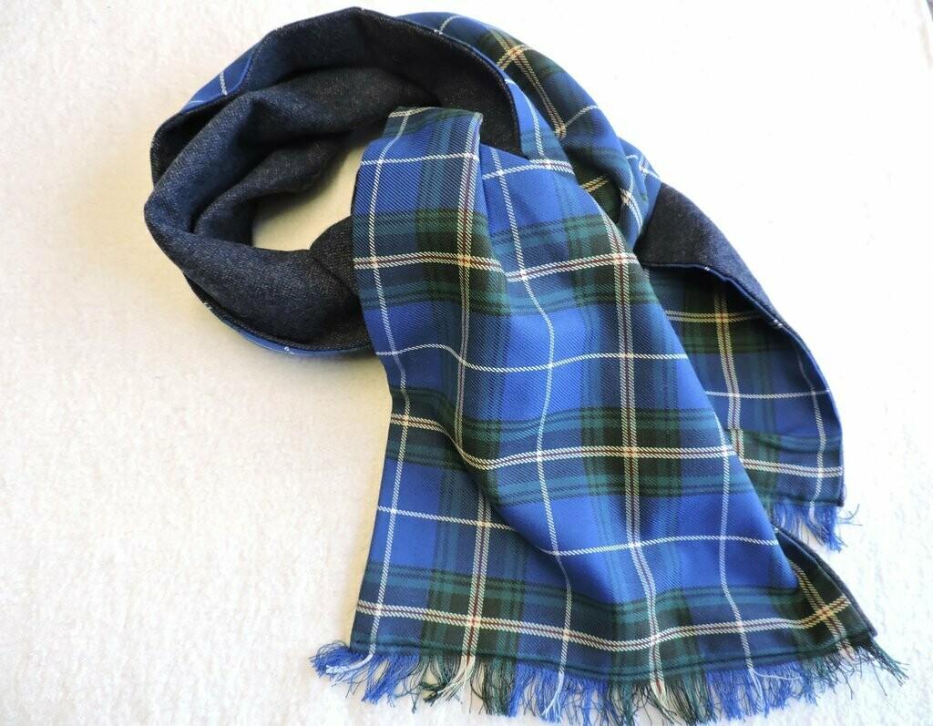 Wool Lined Tartan Scarf