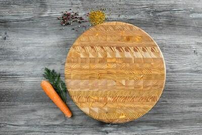Round Cutting Board Larch
