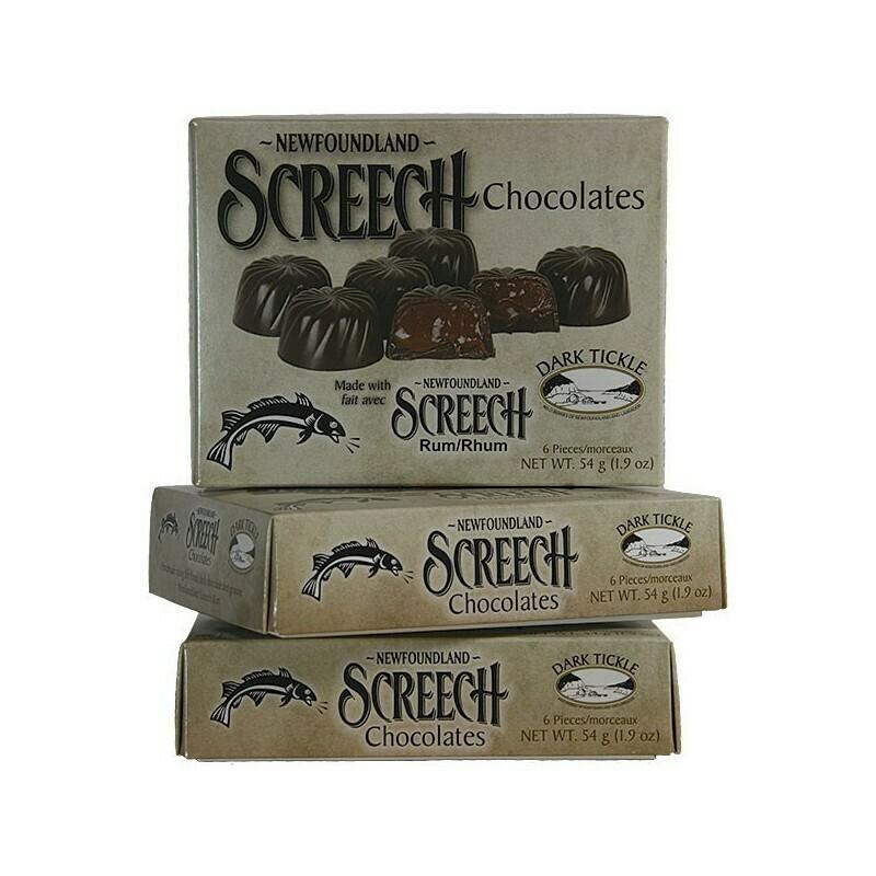 Screech Chocolates 6pc