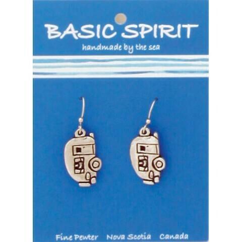 Basic Spirit Maritime Pewter Earrings