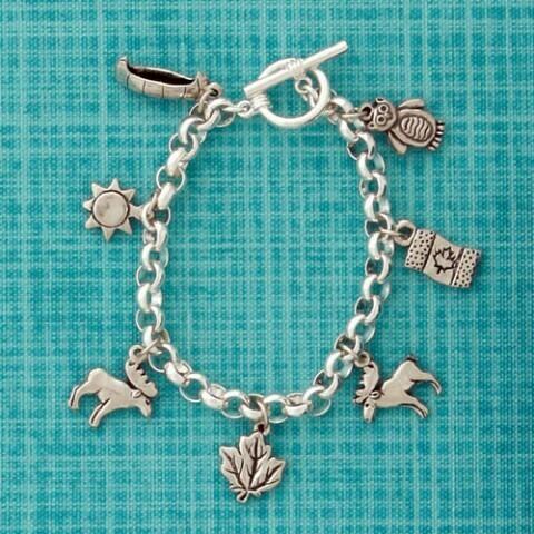 Basic Spirit Multi Charm Bracelet