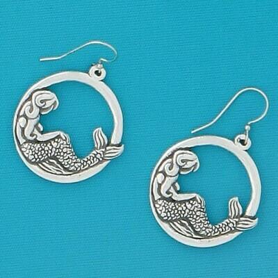 Mermaid Hoop Earring - Basic Spirit
