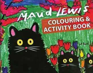Maud Lewis Colouring Book