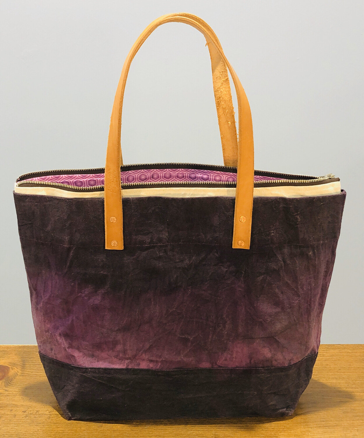 Antigonish Bag Co. Waxed Canvas Tote (With Liner)