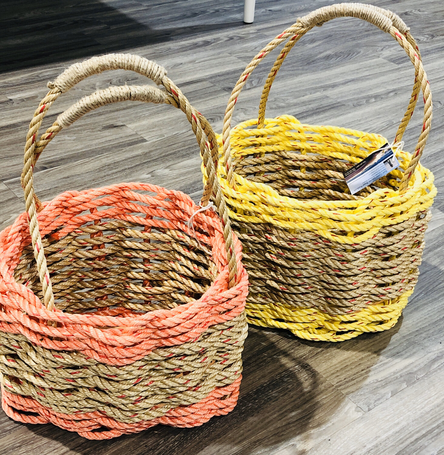 High-sided Lobster Rope Basket