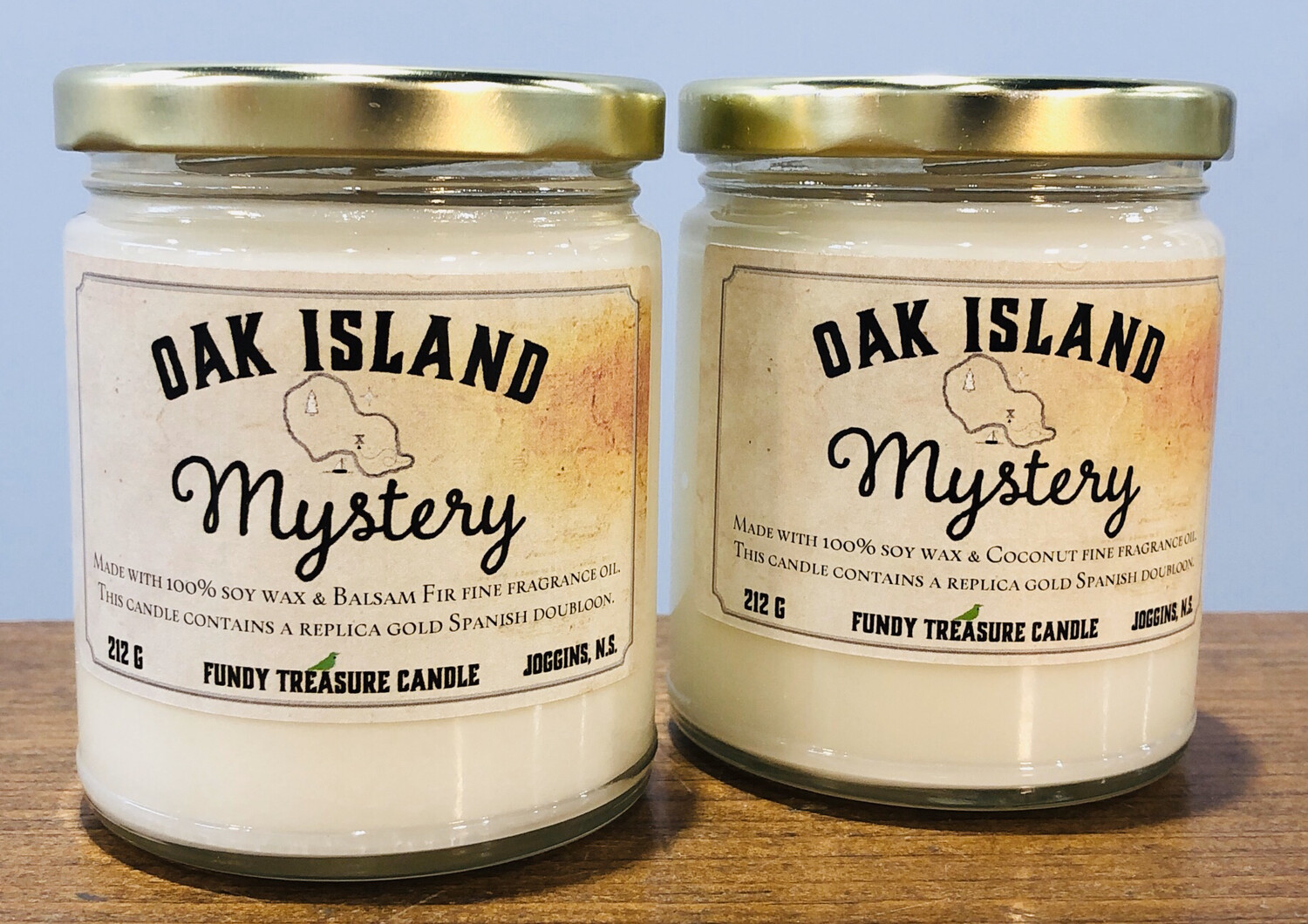 Fundy Treasures Oak Island Candle