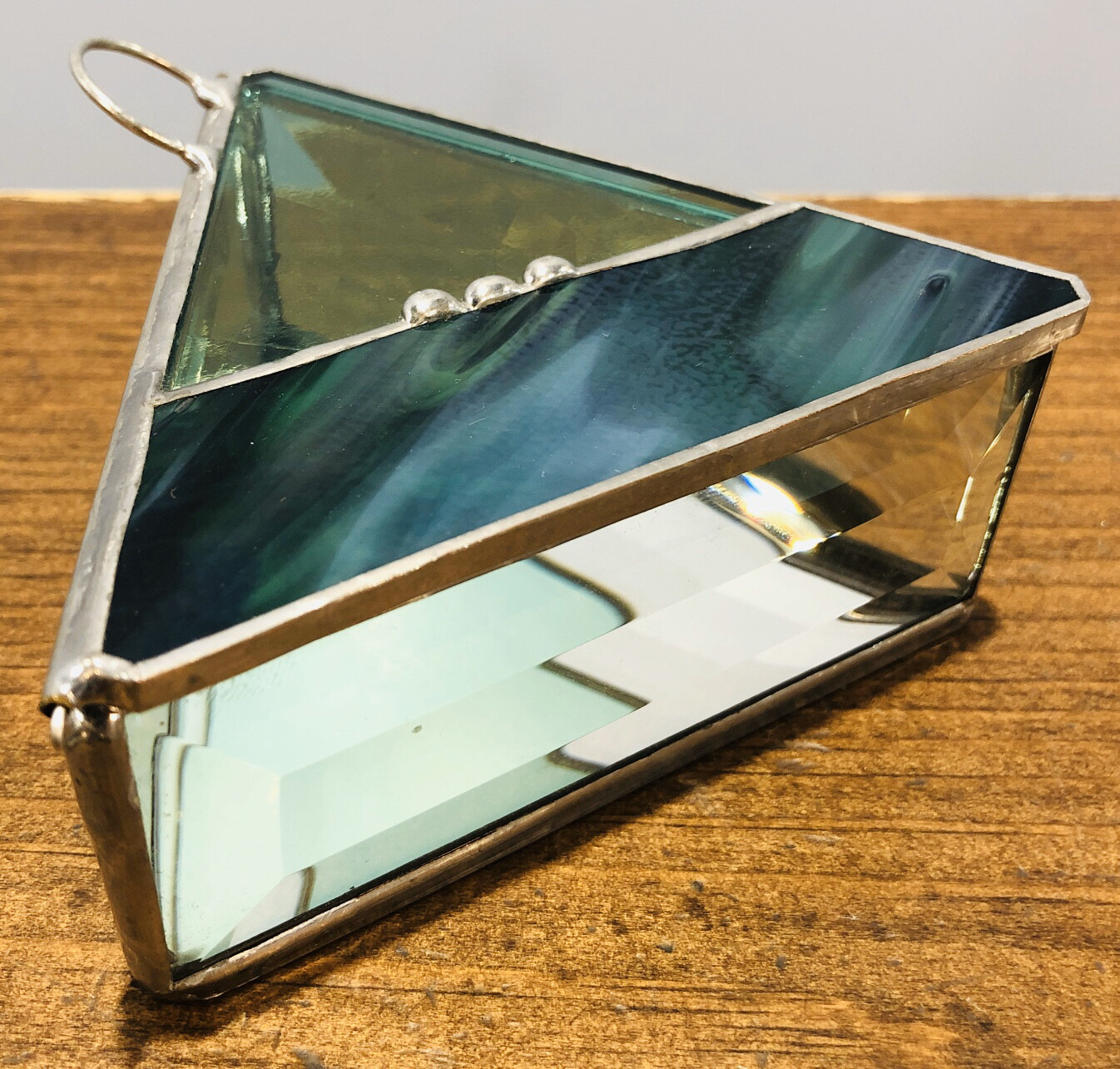 Stained Glass Trinket Box