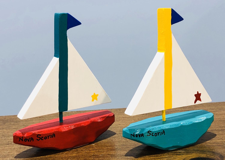 Timberdoodle Small Sailboat