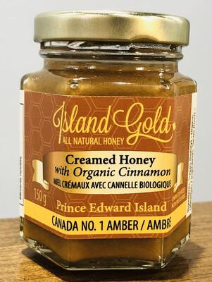 Creamed Honey w Cinnamon 150g