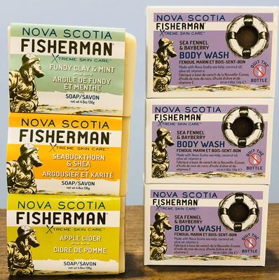 Nova Scotia Fisherman Soap Assorted