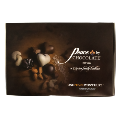 Peace by Chocolate - Assorted 24 Pieces Box
