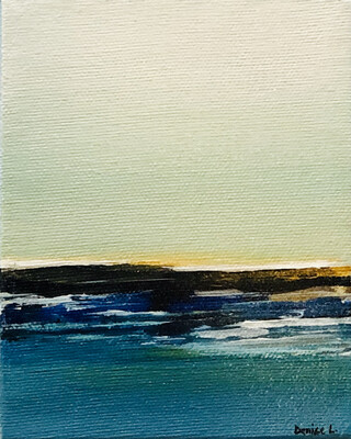 Turquoise Water 4x5