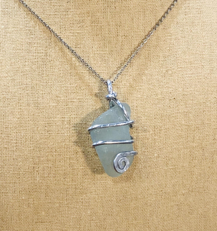 Amorphous Seaglass Necklaces