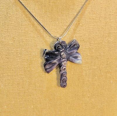 P062 Dragonfly Pendant