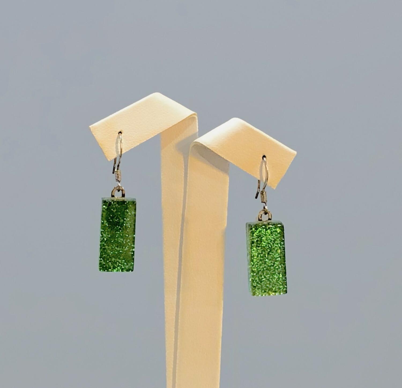 Glass Dangle Earring