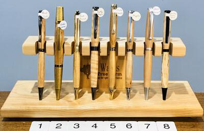 Sid Watts Turned Wood Pen