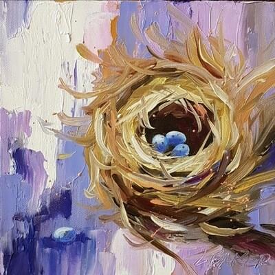 Nest Purple 10x10
