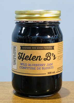 Helen B's Wild Blueberry Jam 500ml