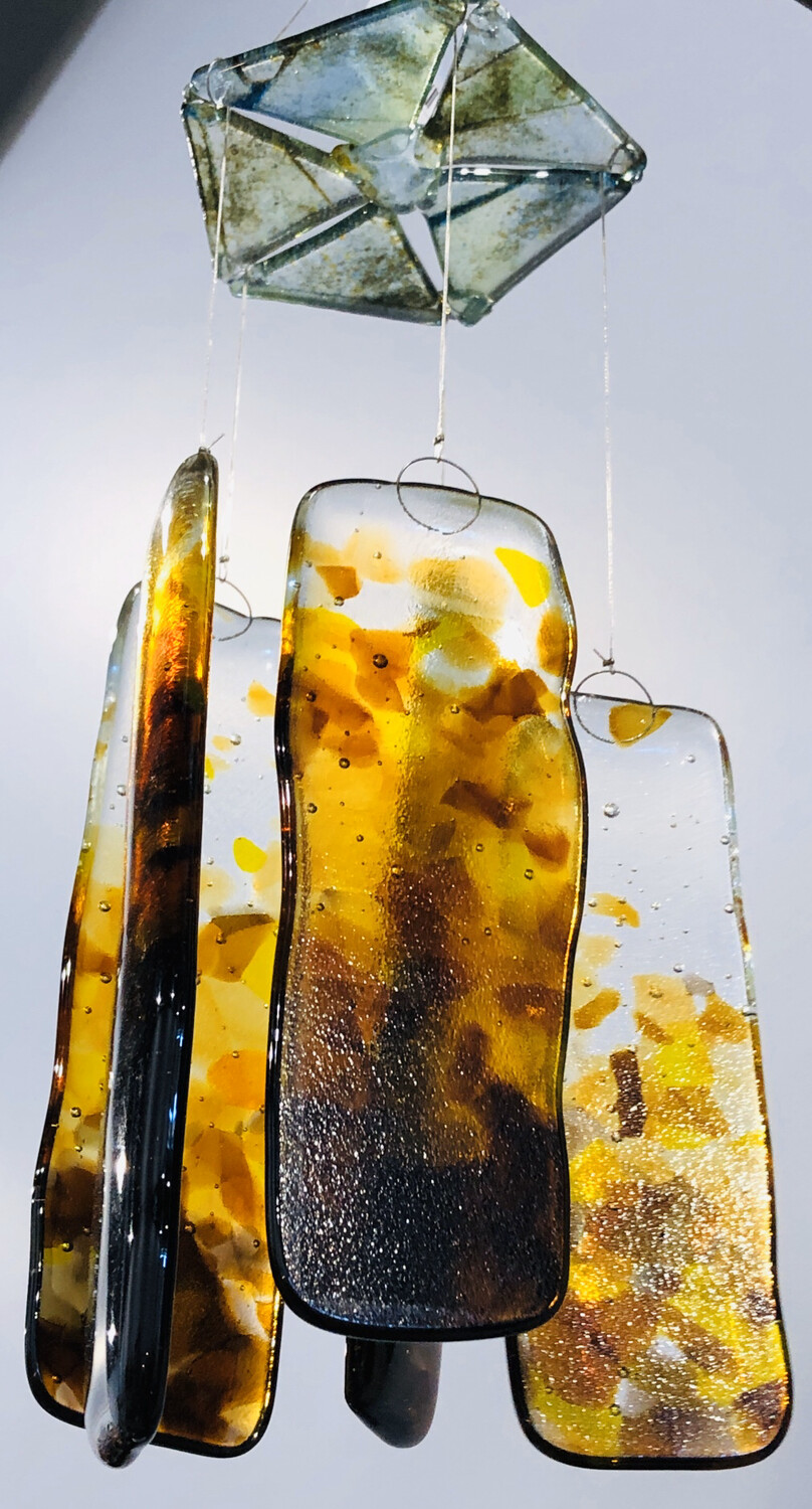 School Street Second Wind Glass Chime