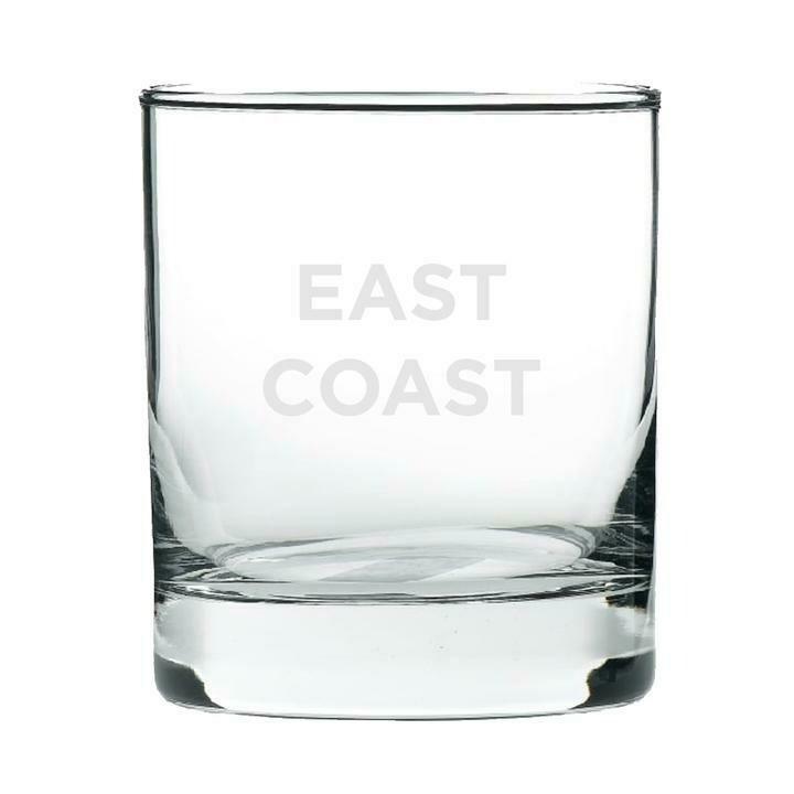 East Coast Rocks Glass