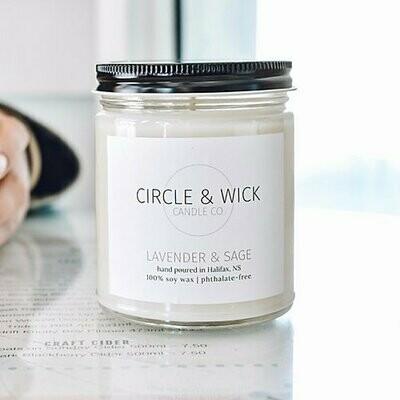Circle & Wick Lavender Sage Candle