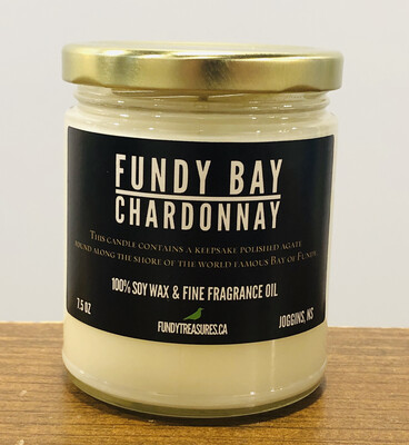 Fundy Bay Chardonnay Candle