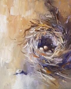 Nest Fawn / Purple