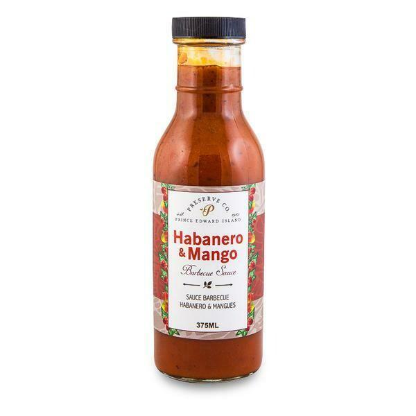 Habanero & Mango BBQ Sauce