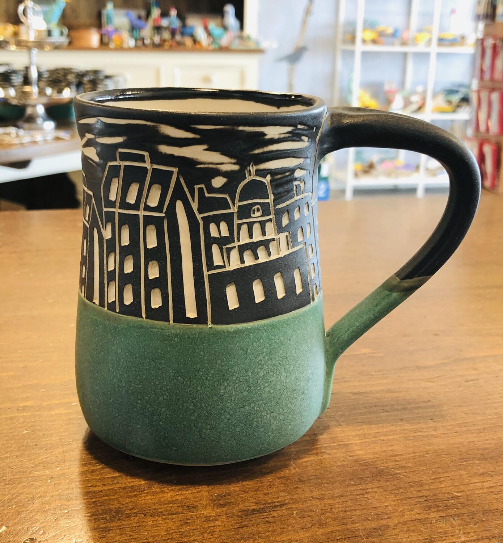 Halifax Skyline Mug - Teal