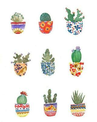 Cactus Pots - Sarah Duggan
