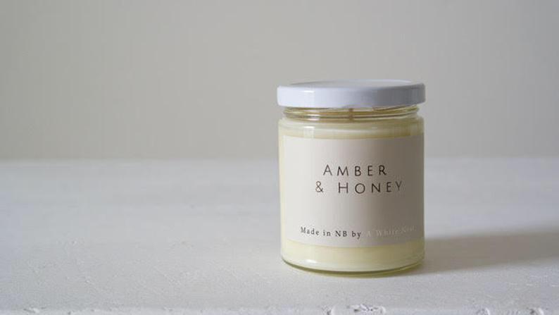 Amber & Honey Candle